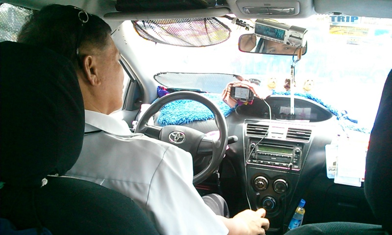 フィリピンのタクシーもネクストイノベーションへ