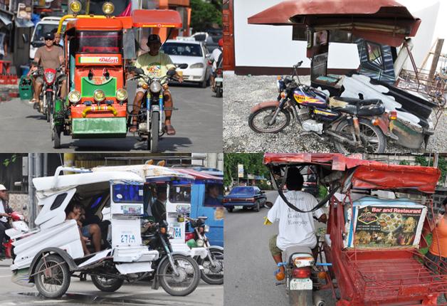 フィリピン 3輪タクシー事情