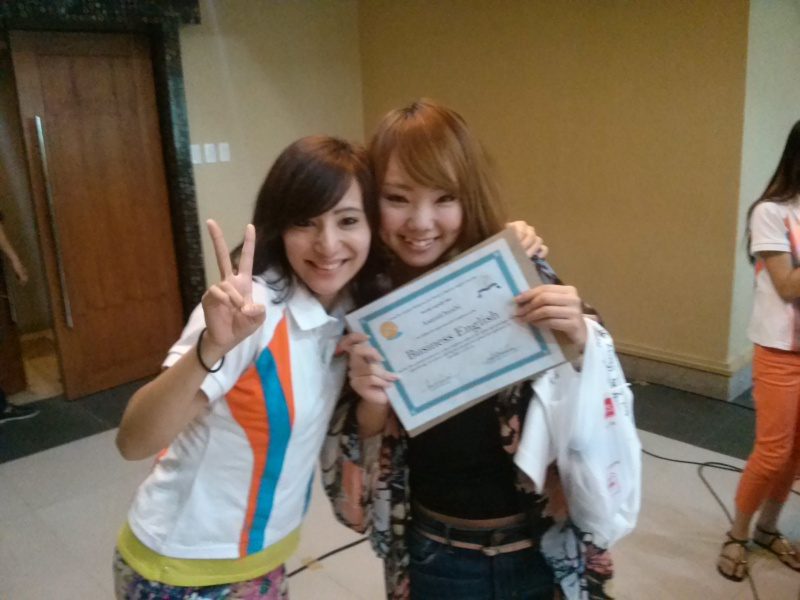 URG社、初の女性スタッフの採用そして卒業!!