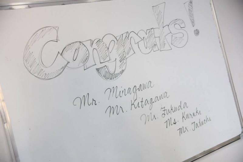 オトナ留学MBA流の卒業式〜!!!
