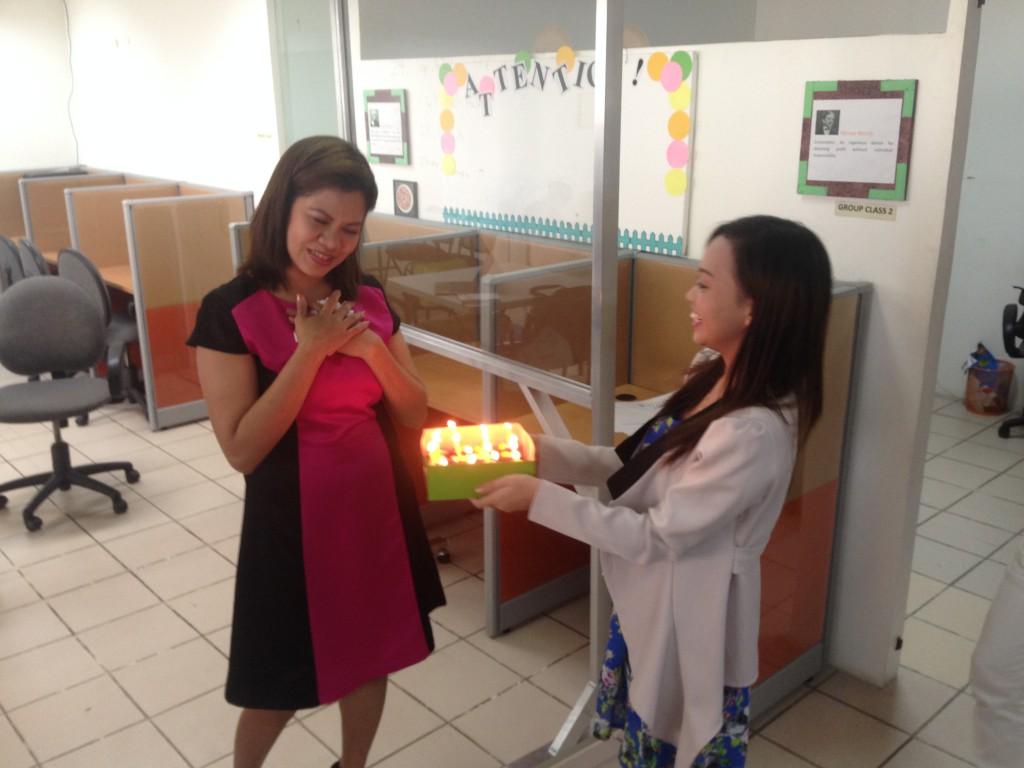 フィリピン式誕生日のお祝いの仕方