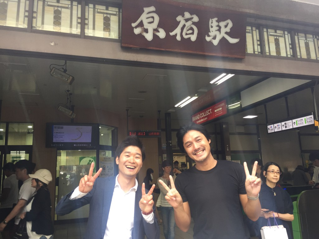 元ランサーズの山口豪志さんとオシャレスポット原宿でばったり遭遇!!!
