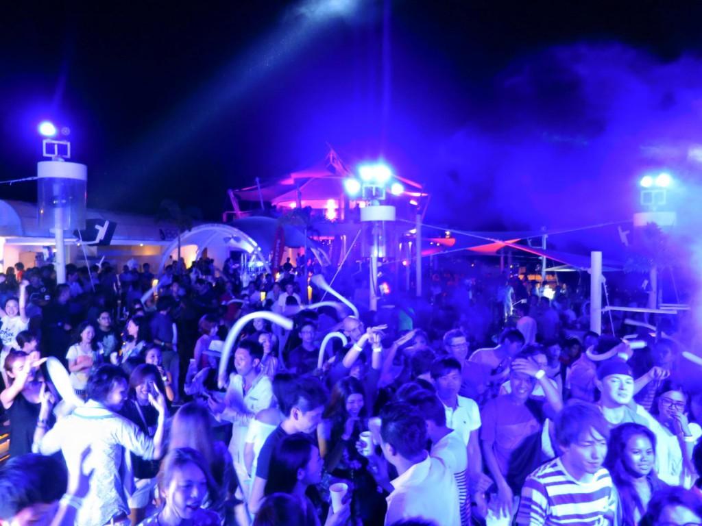 セブ島最高の夜!第5回ビーチパーティー(Electro beach festival in Cebu)!!