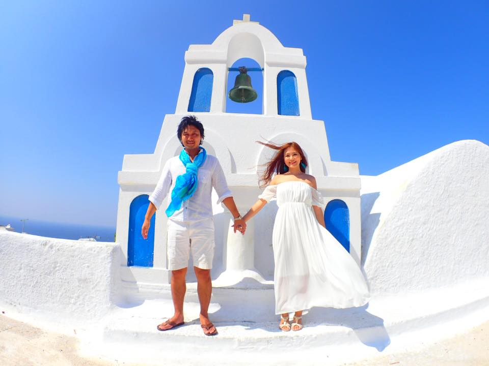 【ヨーロッパの旅の話】ーVol.86 Honeymoon Epilogue in Santoriniー