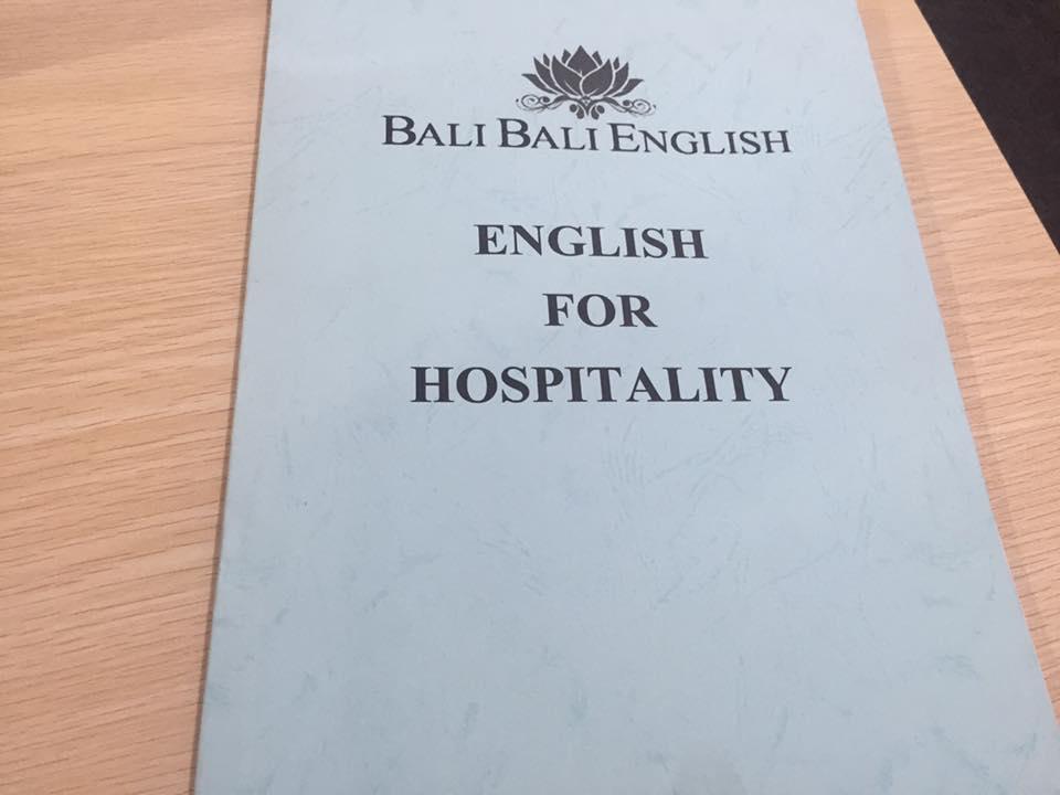 【バリの留学の話】ーVol.110 おもてなし英語コースー