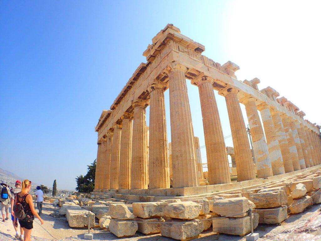 【ヨーロッパの旅の話】ーVol.85 アテネのパルテノン神殿ー