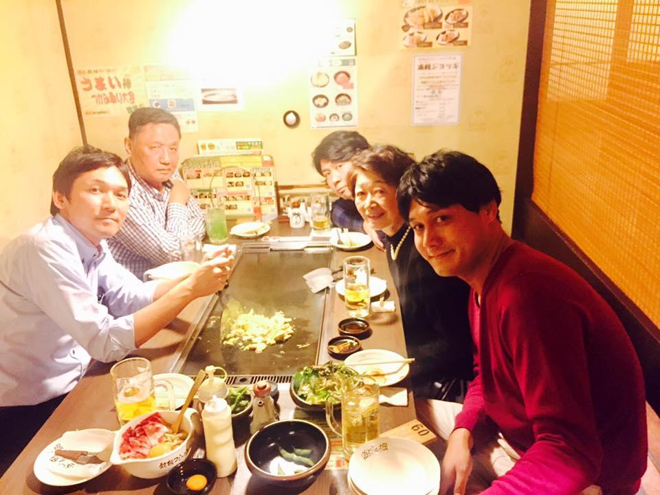 Vol.195 鈴木家食事会2016年は道とん堀でお好み焼きしました。