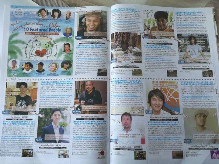 Vol.211  Sakuraインタビュー記事【セブ島の友達の輪!】
