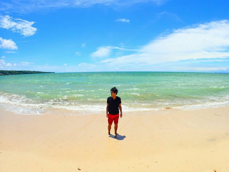 Vol.283-2 バリ島の最高のビーチで一人たたずむ