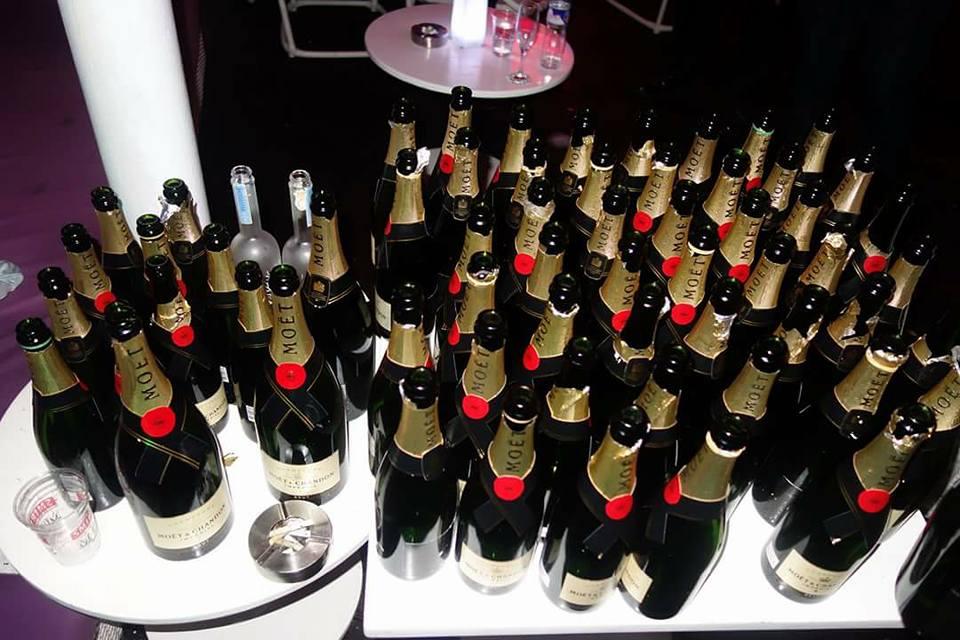Vol.291 ビーチパーティー史上最多シャンパンボトル数!!