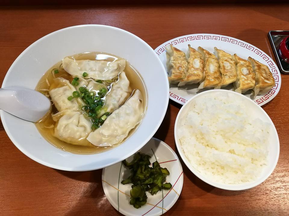 宇都宮餃子とセブ島発のちゃんどんを松之家宇都宮店で食す!