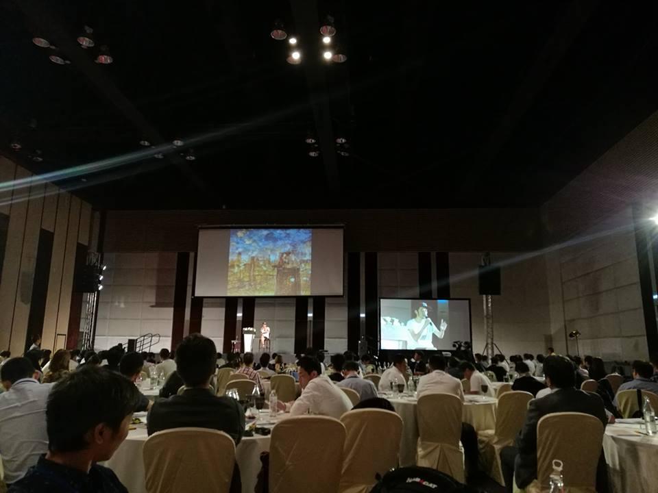 WAOJE世界大会2017 inバンコク キングコングの西野さんの話