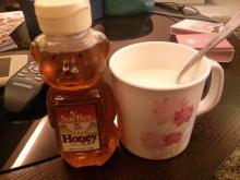 暖かいミルクとハチミツと、時々ポカリ