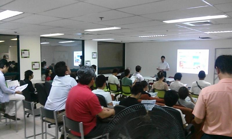 本日の第二回AJITO勉強会の『始めよう20代からの少額投資セミナー』