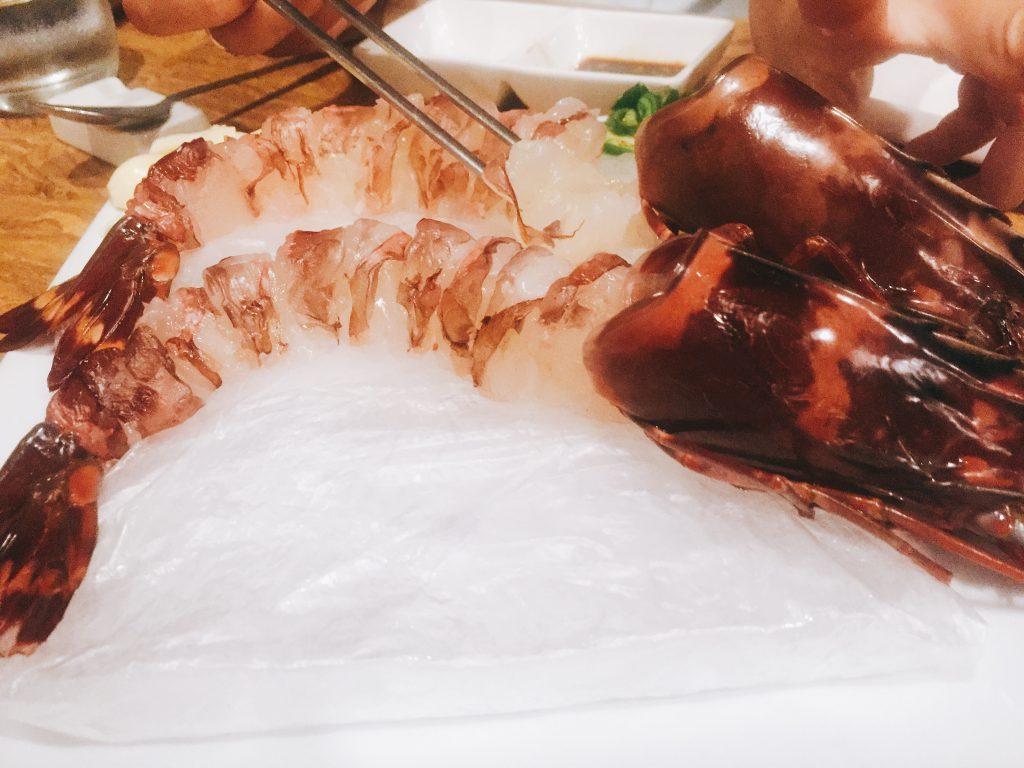 【セブ島のレストランの話】ーVol.213 プリプリ海老が食べれる韓国レストラン ー