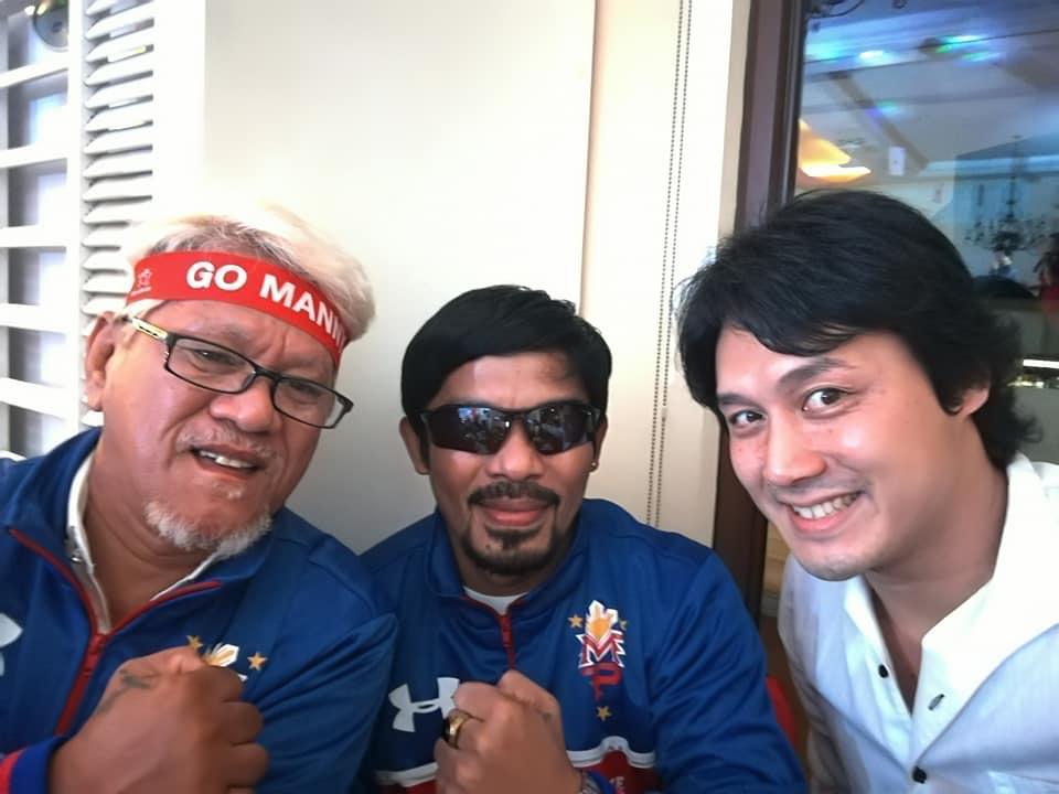 フィリピンの生きる伝説マニー・パッキャオ(Manny Pacquiao)をマニラで発見!?
