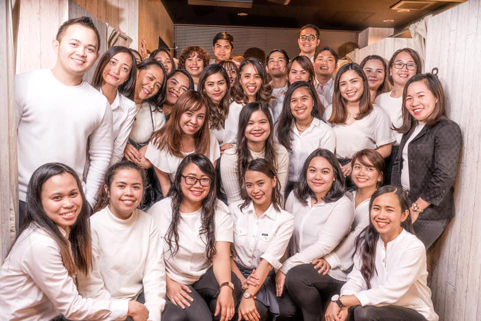 日本英会話スクール「ミライズ英会話」のフィリピン講師達!