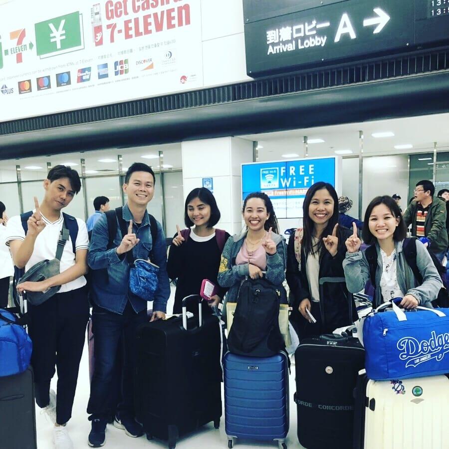 ミライズ英会話 フィリピン新講師が日本に来日しました!!