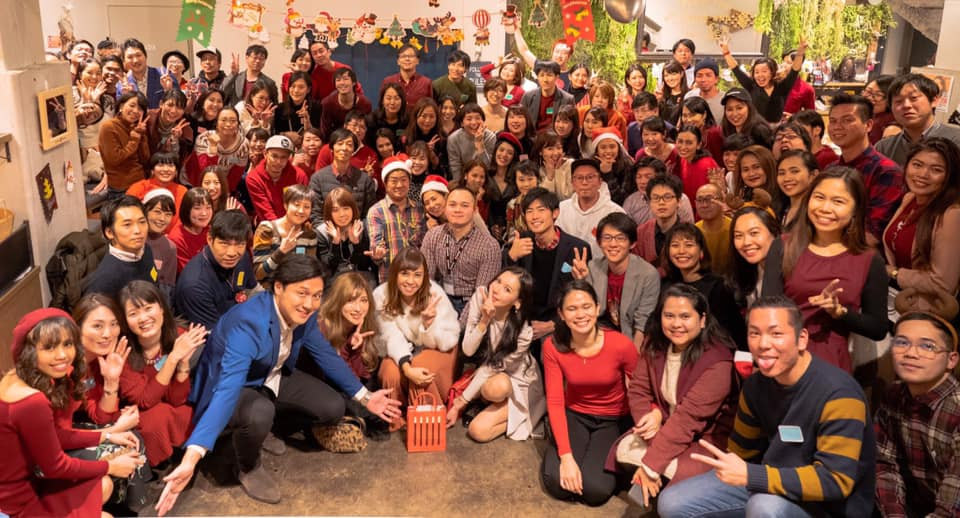 Happy CHRISTMAS 2019.12.8 ミライズ留学・ミライズ英会話合同クリスマスパーティー